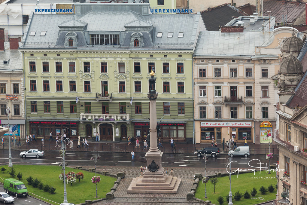 Adam Mickiewicz Denkmal