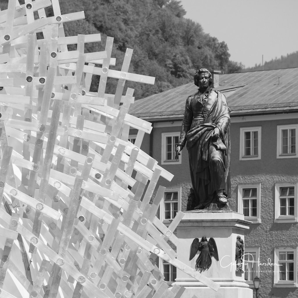 Mozartdenkmal - Art Project