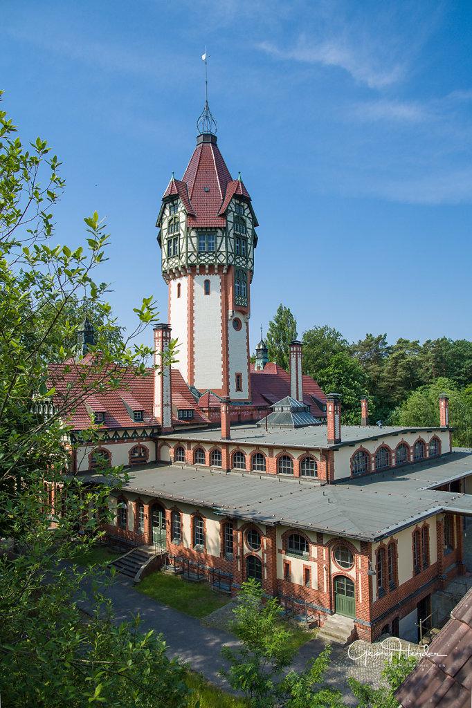 südliches Kesselhaus (heute Fernheizwerk)
