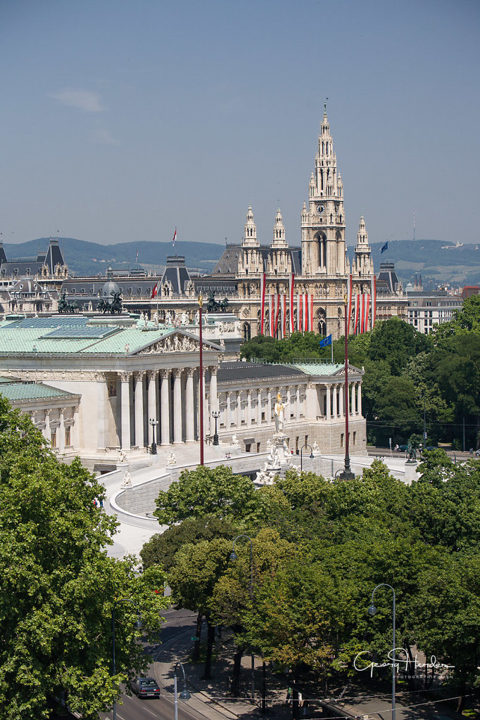 Ringstrasse - Parlament - Rathaus