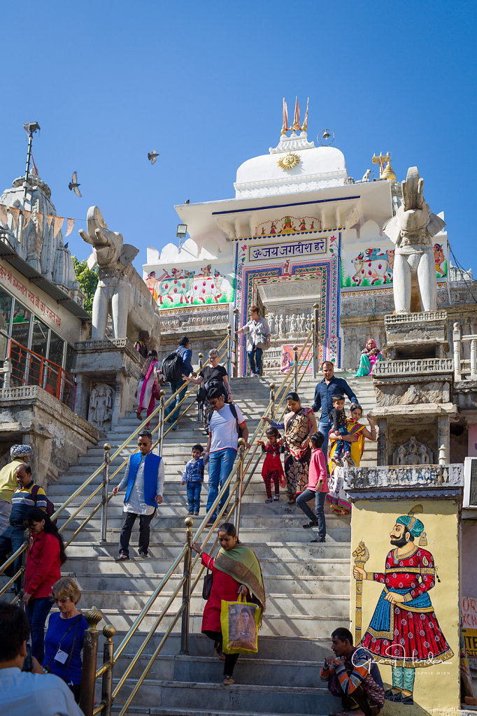 Jagdish Tempel - Udaipur
