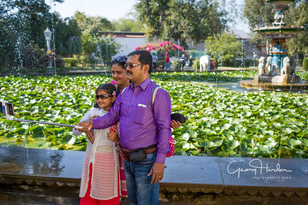 taking selfies - Udaipur