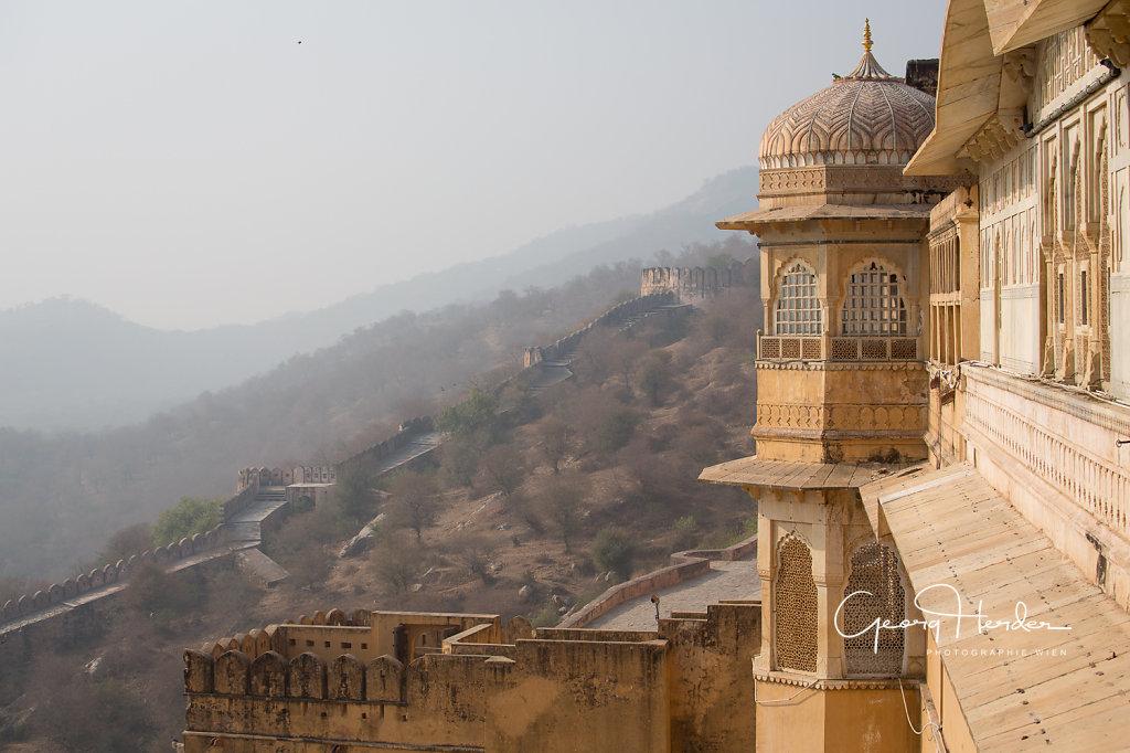 Mountain palace Amber